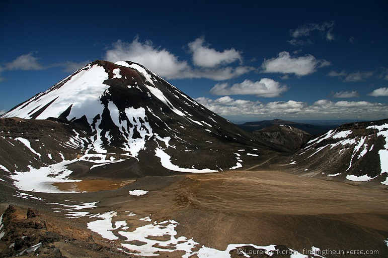 Mount Ngauruhoe and the South Crater[3]